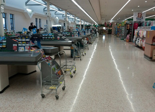 Fantastic work by the cleaning team at Morrisons Stockton