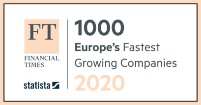 NIC featured in Europe's 1000 Fastest Growing Companies 2020