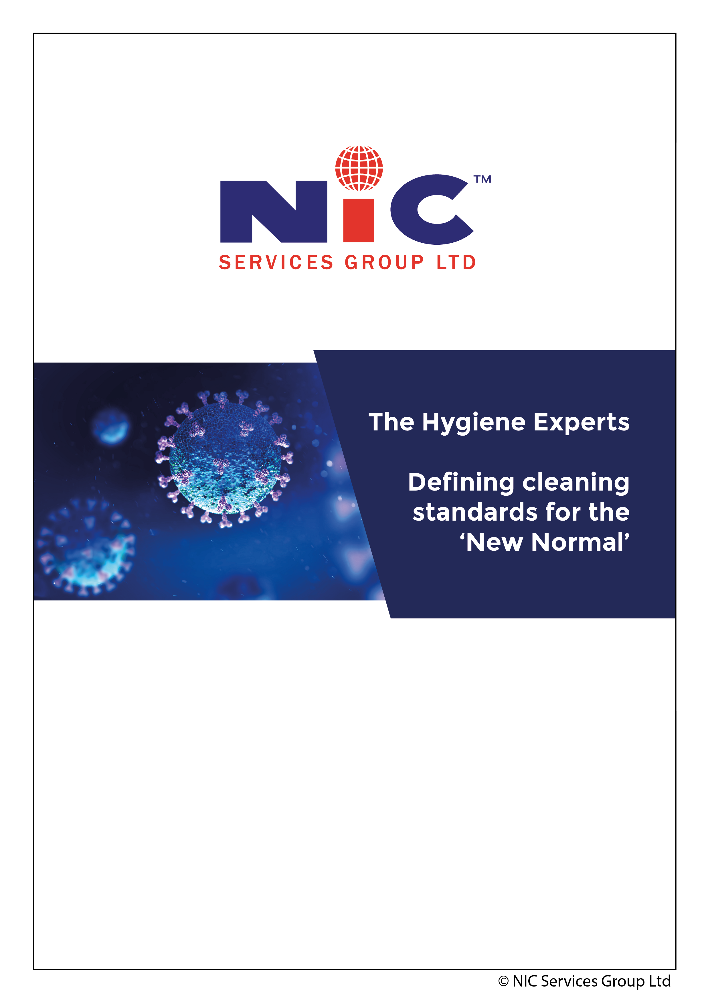 Hygie-NIC – Complete guide to defining cleaning standards for the 'New Normal'