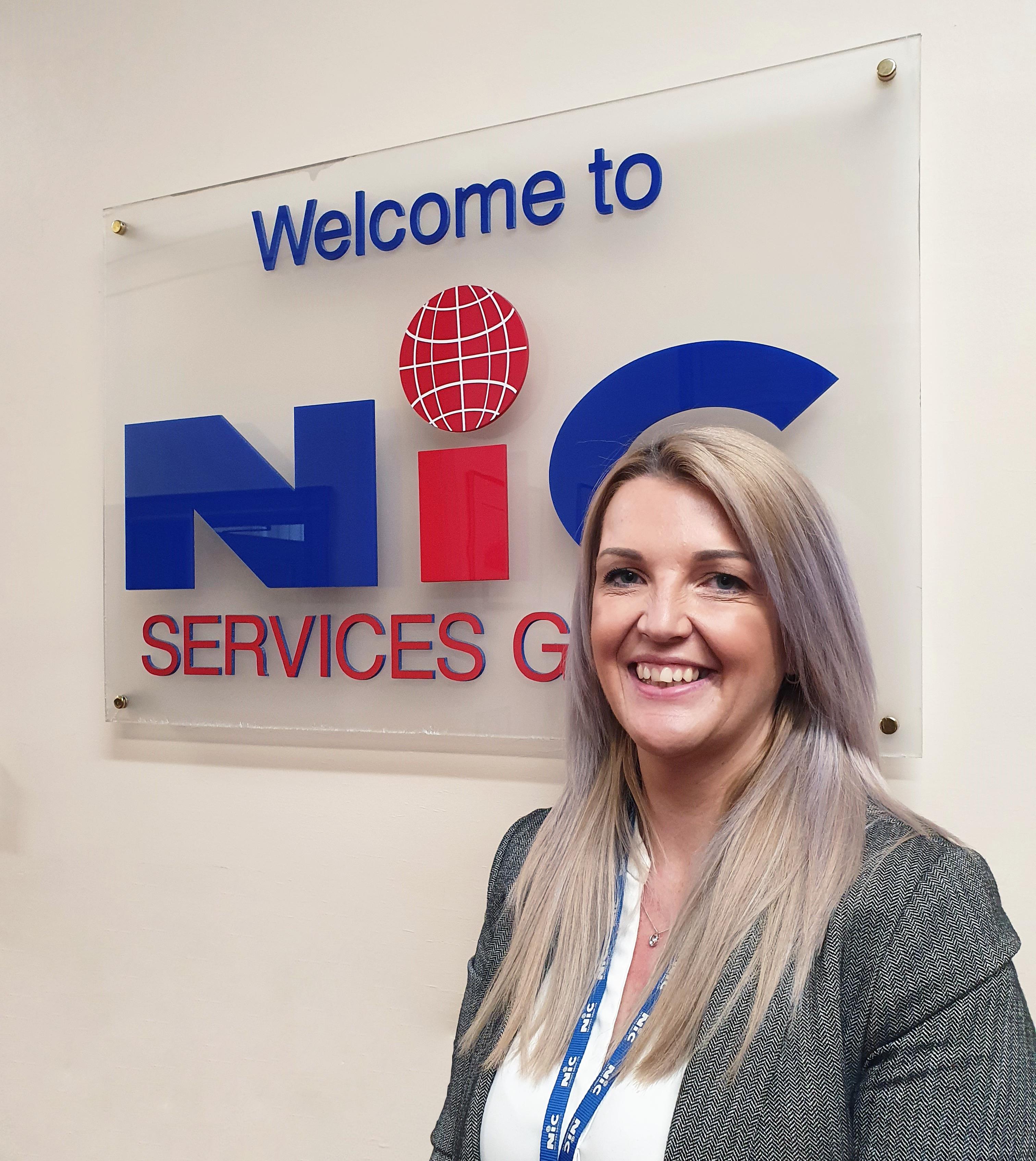 NIC SERVICES GROUP LTD – PROMOTES VICKY SWIFT